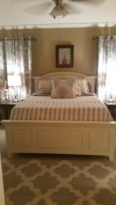 Broyhill bed painted