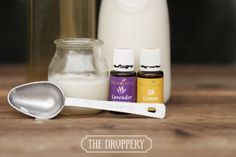 homemade shampoo with essential oils | www.thedroppery.com