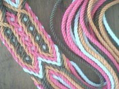 Como hacer tira, gasa, fajon tipo wayuu, My Crafts and DIY Projects