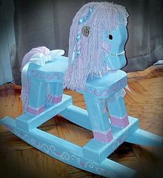 Make Over on Rocking Horse   so i found this rocking horse on the side of the road on garbage day so i picked it up...    things your going...