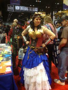 Steampunk Wonder Woman!