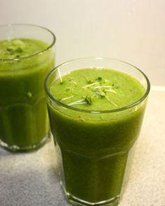 Grüne Smoothies Rezepte zum Abnehmen - Grüne Smoothies