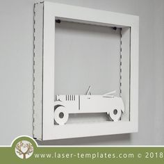 This ready-to-go Vintage Car Frame is perfect for laser cutting. Try something new and create unique products suitable for Interior Decorating, Birthday Gifts, Special Occasion Gifts and so on. Try Something New, Laser Cutting, Vintage Cars, Interior Decorating, Templates, Frame, Ideas, Picture Frame, Stencils