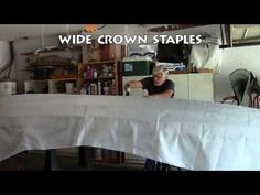Whitehall Skin on Frame Part 7: Skin and Trim the Boat - YouTube