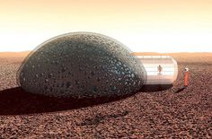 Sfero Bubble House for Mars