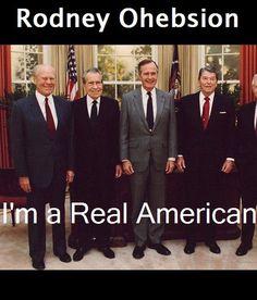 Im a Real American - Rodney Ohebsion | Politics & Current...: Im a Real American - Rodney Ohebsion | Politics &… #PoliticsampCurrentEvents