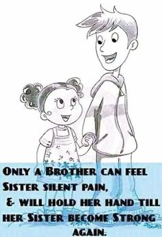 #HaÝÂ Love My Brother Quotes, Brother And Sister Relationship, Brother And Sister Love, Sibling Quotes, Siblings Goals, Love Quotes Poetry, Guy Friends, Funny Quotes, Son Quotes