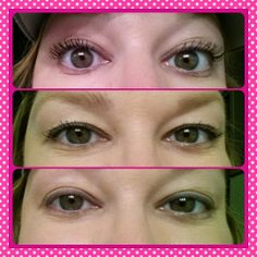 Younique By-Butterfly Kisses: Today's Younique Look by Ashley Tucker. My personal results. Bottom is bare lashes, middle is 1 coat of urban decay mascara and top is 1 coat of 3D fiber lashes. www.butterflykissesmascara.com