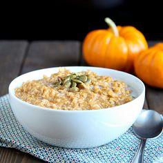 Pumpkin Pie Oatmeal - Snixy Kitchen