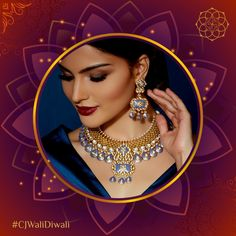 Shine the brightest this season! For inquiries, us on 98209 55235 Coin Auctions, India Jewelry, Bridal Fashion, Diwali, Bridal Style, Fashion Jewelry, Graphics, Seasons, Chain