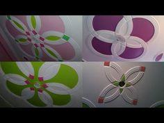 Roof fan Box color p o p design / Rk p.p contractor