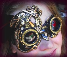 steampunk goggles - if these had an ability it would to see in infrared.