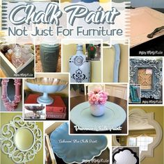 Great post on lovely items painted in Chalk Paint® decorative paint by Annie Sloan