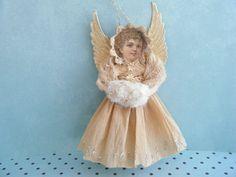 spun cotton angel