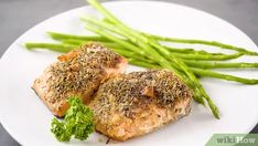 3 Ways to Cook Frozen Salmon - wikiHow Pan Seared Salmon, Grilled Salmon, Baked Salmon, Salmon Fillets, Filets, Cook Frozen Salmon, Cooking Salmon Fillet, Low Cholesterol Diet Plan, Cajun Salmon