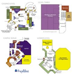 map+of+excalibur+las+vegas | Excalibur Casino Floor Map
