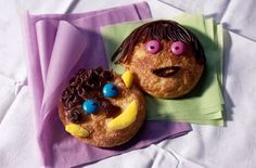 These funny faced cookies are sure to brighten up the day! | Tesco