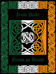 Irish Pride by introspectre on DeviantArt Celtic Pride, Irish Pride, Irish Celtic, Celtic Fc, Celtic Heart, Native American Quotes, Native American History, American Symbols, American Indians
