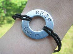 Keep Calm Bracelet $10.00