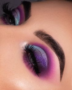 Gorgeous Makeup: Tips and Tricks With Eye Makeup and Eyeshadow – Makeup Design Ideas Eye Makeup Art, Cute Makeup, Gorgeous Makeup, Eyeshadow Makeup, Eyeliner, Eyeshadow Palette, Beauty Makeup, Makeup Geek, Huda Beauty