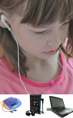 """encourage kids to """"read"""" an audio book - it counts as reading!"""