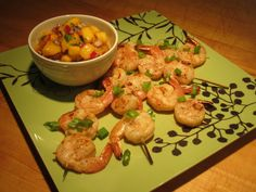 Grilled Shrimp Skewers with Mango Salsa Recipe – The Lemon Bowl