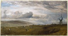 A Windmill near Brighton | Constable, John (RA) | V&A Search the Collections