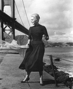 Kim Novak in Vertigo. This needs to be on everyone's list of 'Must See' films