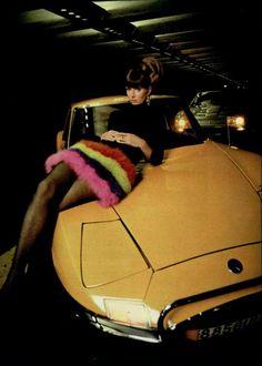 Rare Car Pin-Up Girl - 1967 Matra 530A