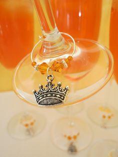 Glasmarkierer, Weinglasringe der Schmuck für´s Glas, winecharms