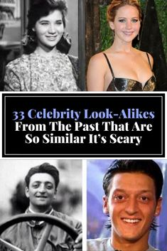 These celebrity look-alikes from the annals of history may have you wondering whether everyone from Jennifer Lawrence to Eminem is actually immortal. Weird Facts, Fun Facts, Funny Fails, Funny Jokes, Famous Celebrities, Beautiful Celebrities, Sweet Cocktails, Crazy People, Just Kidding