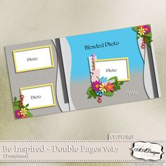 Be Inspired - Double Pages Vol.7 by AADesigns