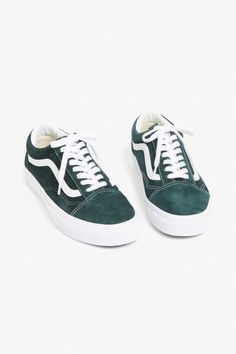 cf4cf729a4 Vans suede old school - Darkest spruce - Shoes