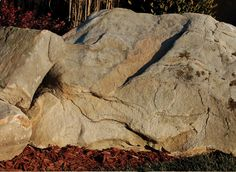 Weathered Sandstone Boulders Boulder Landscape, Cement, Concrete, Landscaping With Boulders, Landscaping Supplies, Lawn And Garden, Bouldering, Nature, Ideas