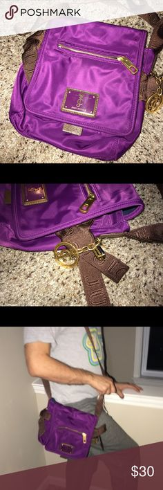 Juicy Couture handbag Used purple juicy bag Juicy Couture Bags Crossbody Bags