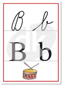 Písmena Bb   datakabinet.cz Tech Companies, Alphabet, Bb, Place Cards, Preschool, Company Logo, Place Card Holders, Education, Logos