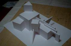 Объемные макеты из бумаги