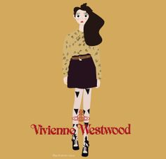 Vivienne Westwood fall 2014, Cora Corre