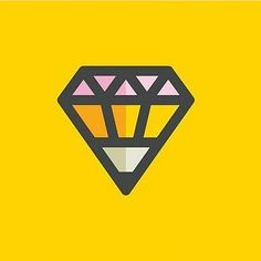 Diamond pencil logo idea by @allanpeters #follow us to see more creative and inspirational design everyday!  #design #illustrator #logo #designspiration #icon #icondesign #vector #graphicdesign #simple #creative #flatdesign #graphicdesigner #pictoftheday #art #pixel #inspiration #iconaday #shoutout #pencil #diamond #yellow by bananas_cdc