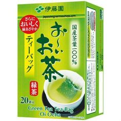 Oi Ocha Green Tea Bags 20 pack (40 grams)