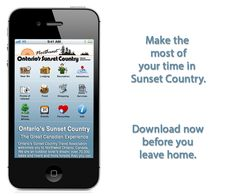 Sunset Country launches a free mobile app for traveling in Northwest Ontario! For iPhone/iPad and Android.