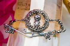 DIY Jewelry Pattern  Skylark Bracelet Wired Chinese Knot by decors, $15.00