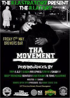 Happening tonight - Tha Movement at Mount Maunganui