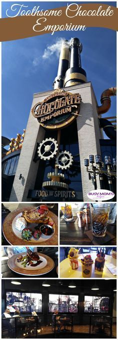 Toothsome Chocolate Emporium & Savory Feast Kitchen check out why this is my new favorite Universal Orlando City Walk restaurant! (I was provided reservations but this was not sponsored in any way) - Travel Orlando - Ideas of Travel Orlando Destin Florida, Orlando Florida, Orlando City, Orlando Travel, Orlando Vacation, Orlando Resorts, Visit Florida, Florida Vacation, Orlando Disney