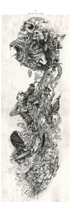 Dzo – Selection of Ink Artworks | Be Street