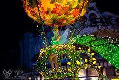 Tinkerbell, Magic Kingdome Electric Light Parade #Disney World   #DisneyPhotography