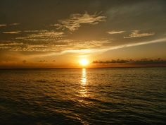Isla Mujeres, Mexico sunsets make it almost impossible to take a bad picture.