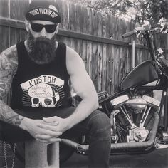 On My Flyrite Chopper During A Photo Shoot With Josh