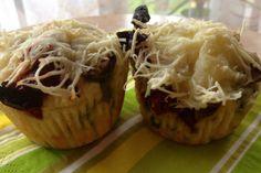 Italské slané muffiny