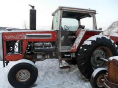 Massey Ferguson 2745 tractor salvaged for used parts. This unit is available at All States Ag Parts in Downing, WI. Call 877-530-1010 parts. Unit ID#: EQ-23813. The photo depicts the equipment in the condition it arrived at our salvage yard. Parts shown may or may not still be available. http://www.TractorPartsASAP.com